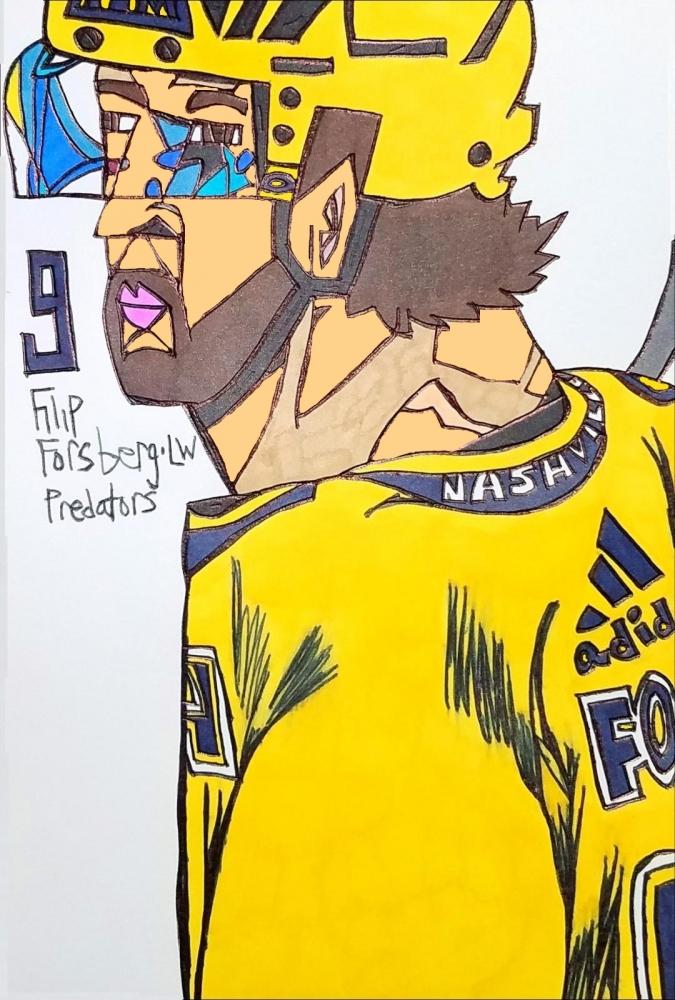 Filip Forsberg por armattock
